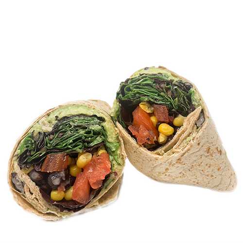 Black Bean Wrap - Nella's Nutri-Bar